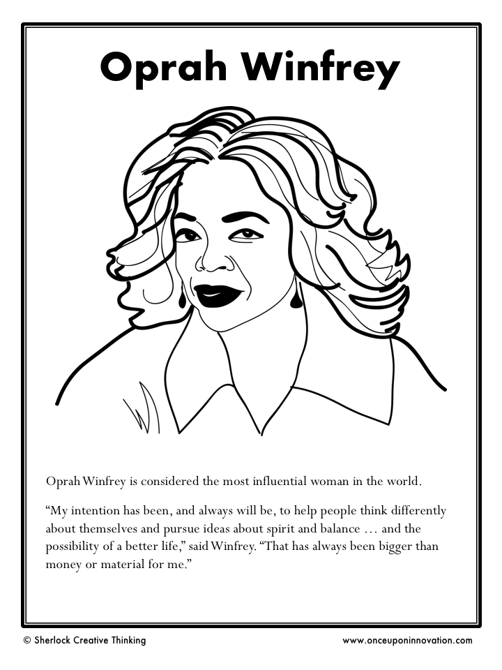 Oprah Winfrey Worksheet